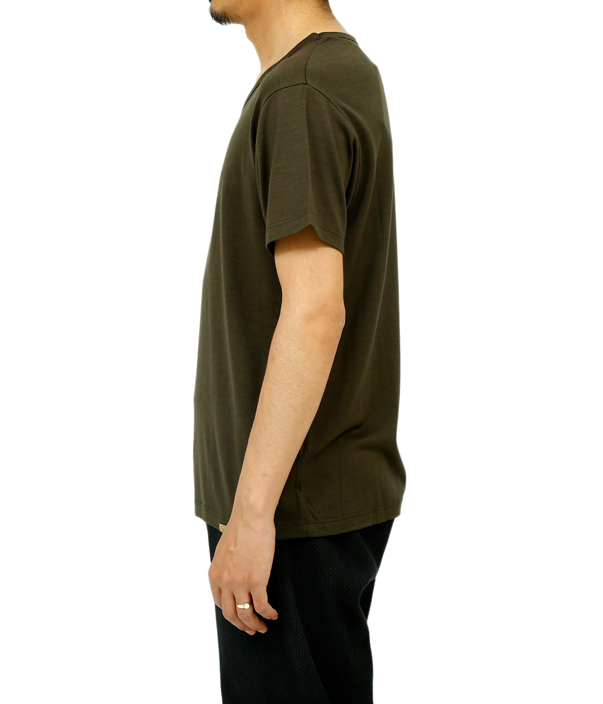 Super 120S Washable Wool Tee