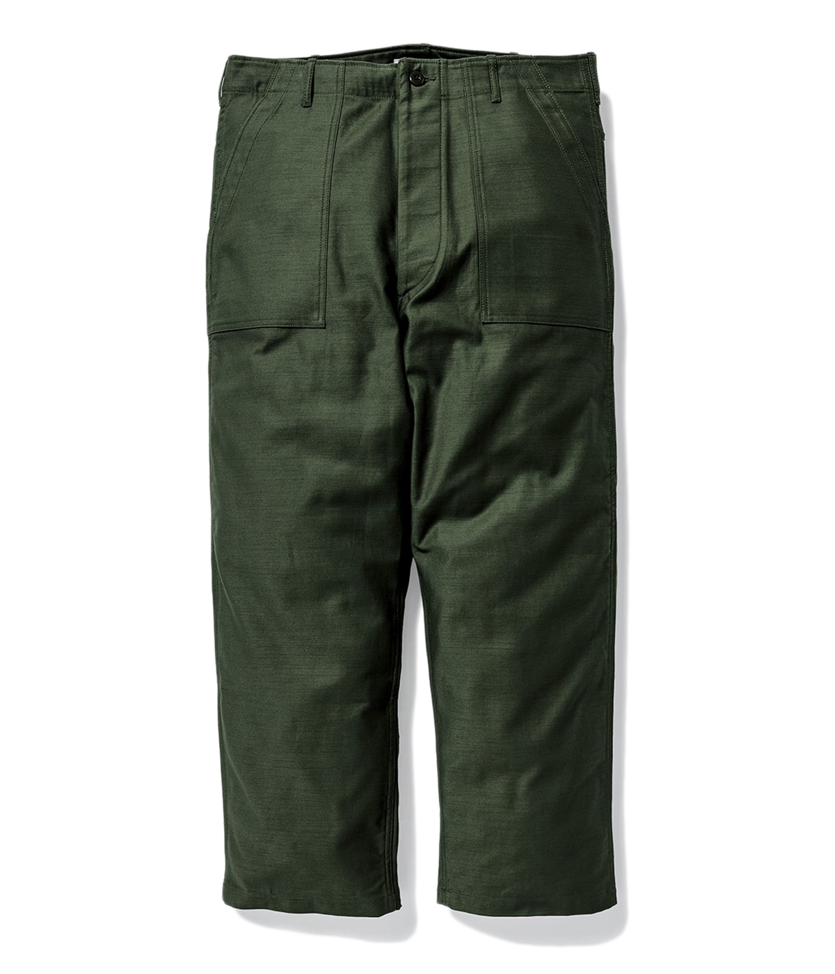 WMILL-TROUSER 02 / TROUSERS. COTTON. SATIN