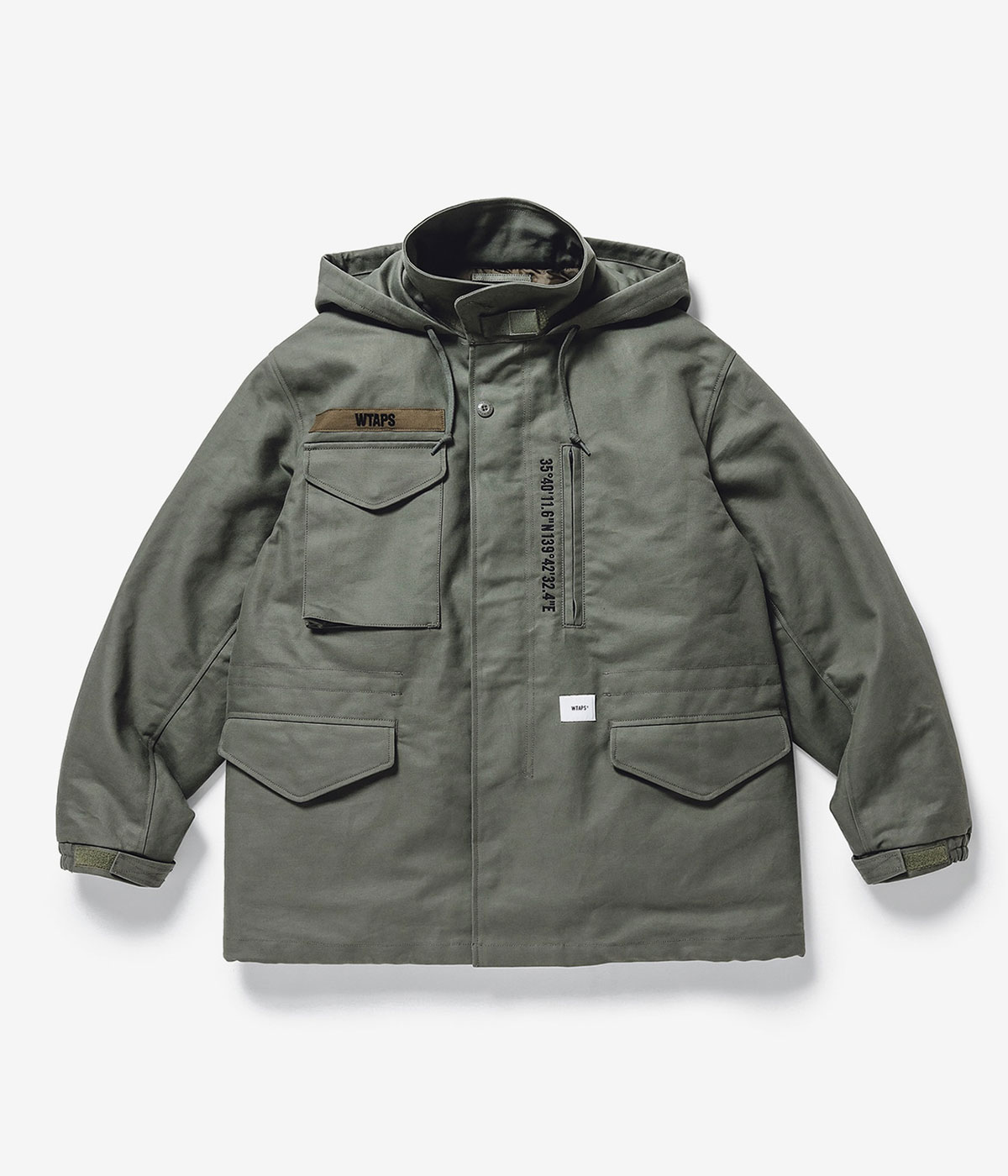 WSFM / JACKET. COTTON. TWILL