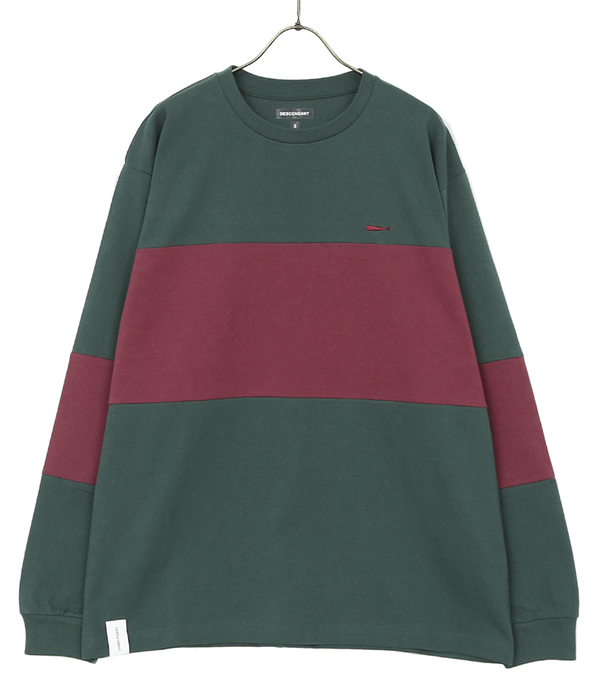 CURRENT CREW NECK LS