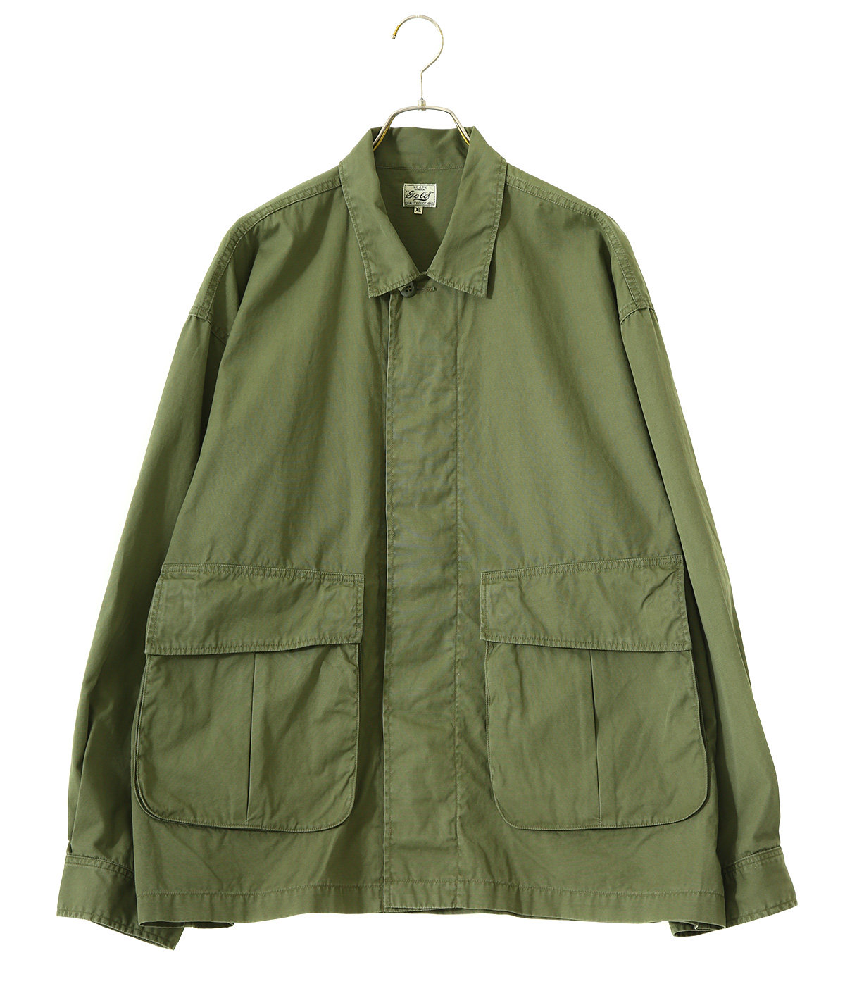 【予約】COTTON WEATHER MILITARY JACKET