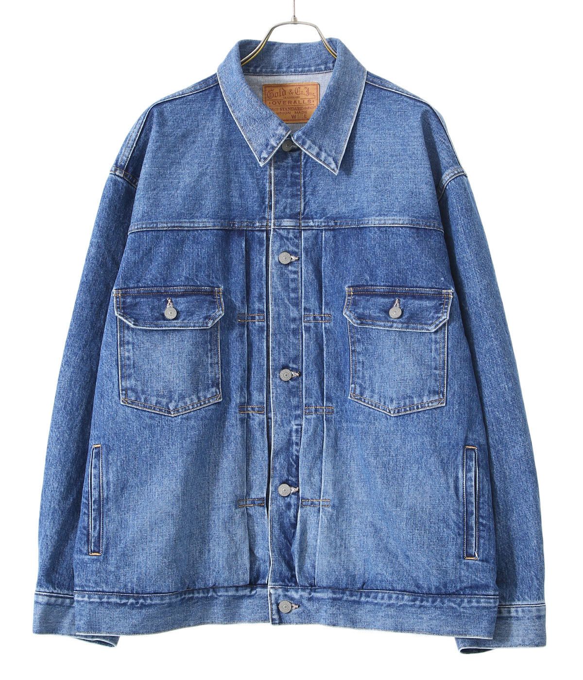 【予約】14oz. DENIM JACKET AGED MODEL
