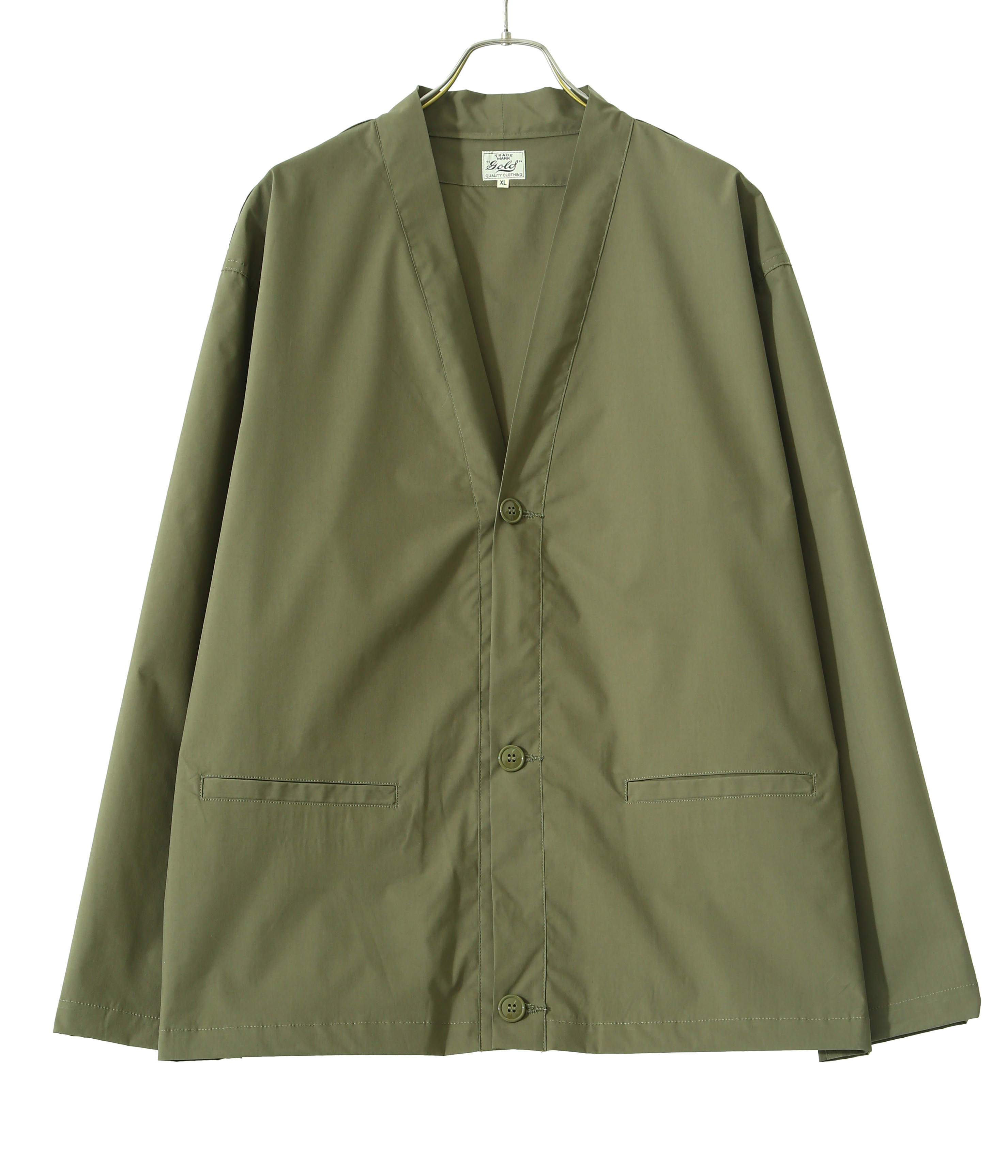 【予約】STRETCH WEATHER CLOTH CARDIGAN