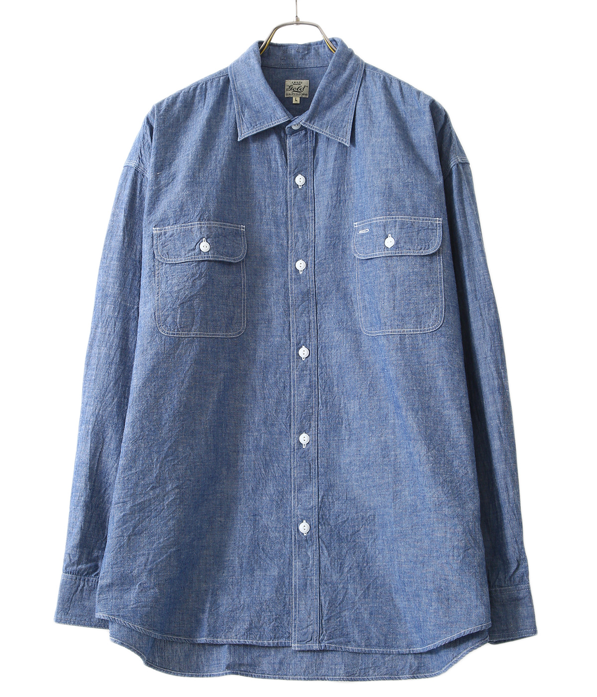 【予約】CHAMBRAY BIG WORK SHIRT