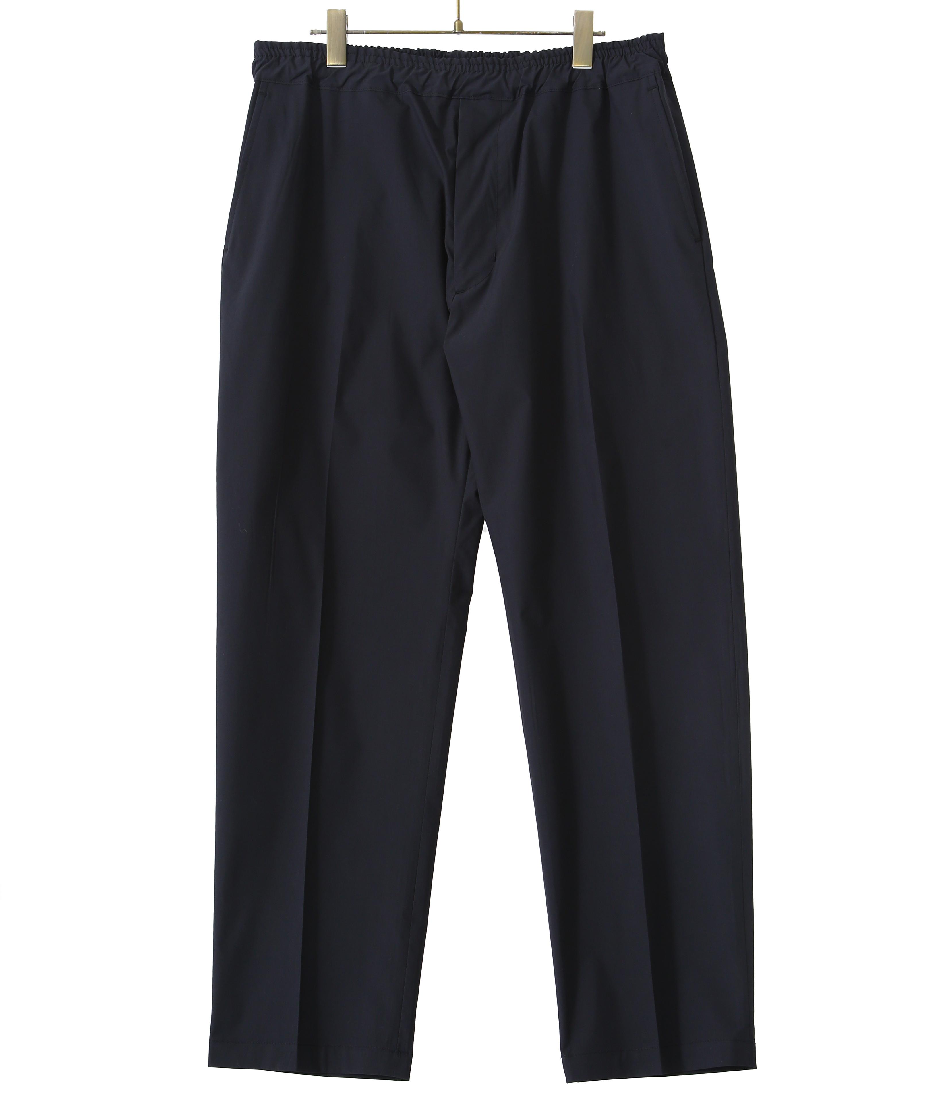 【予約】STRETCH WEATHER CLOTH SLIM EASY PANTS