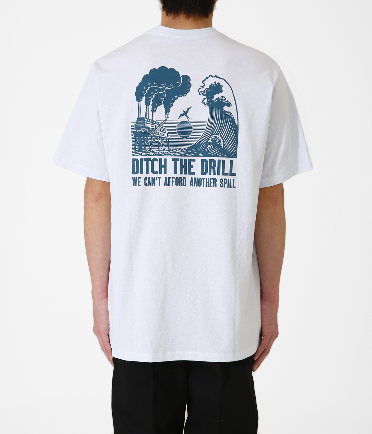M's Ditch The Drill Responsibili-Tee -WHI-