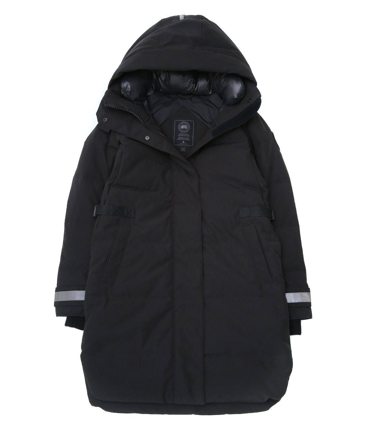 【レディース】<BENNETT PARKA(ベネット パーカー)>-BLACK LABEL/BLACK DISC-
