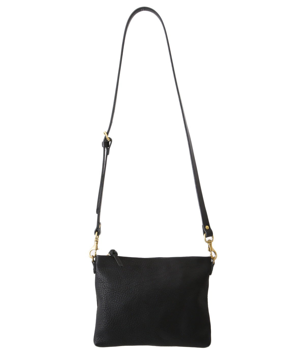 bono pouch shoulder bag -Black-
