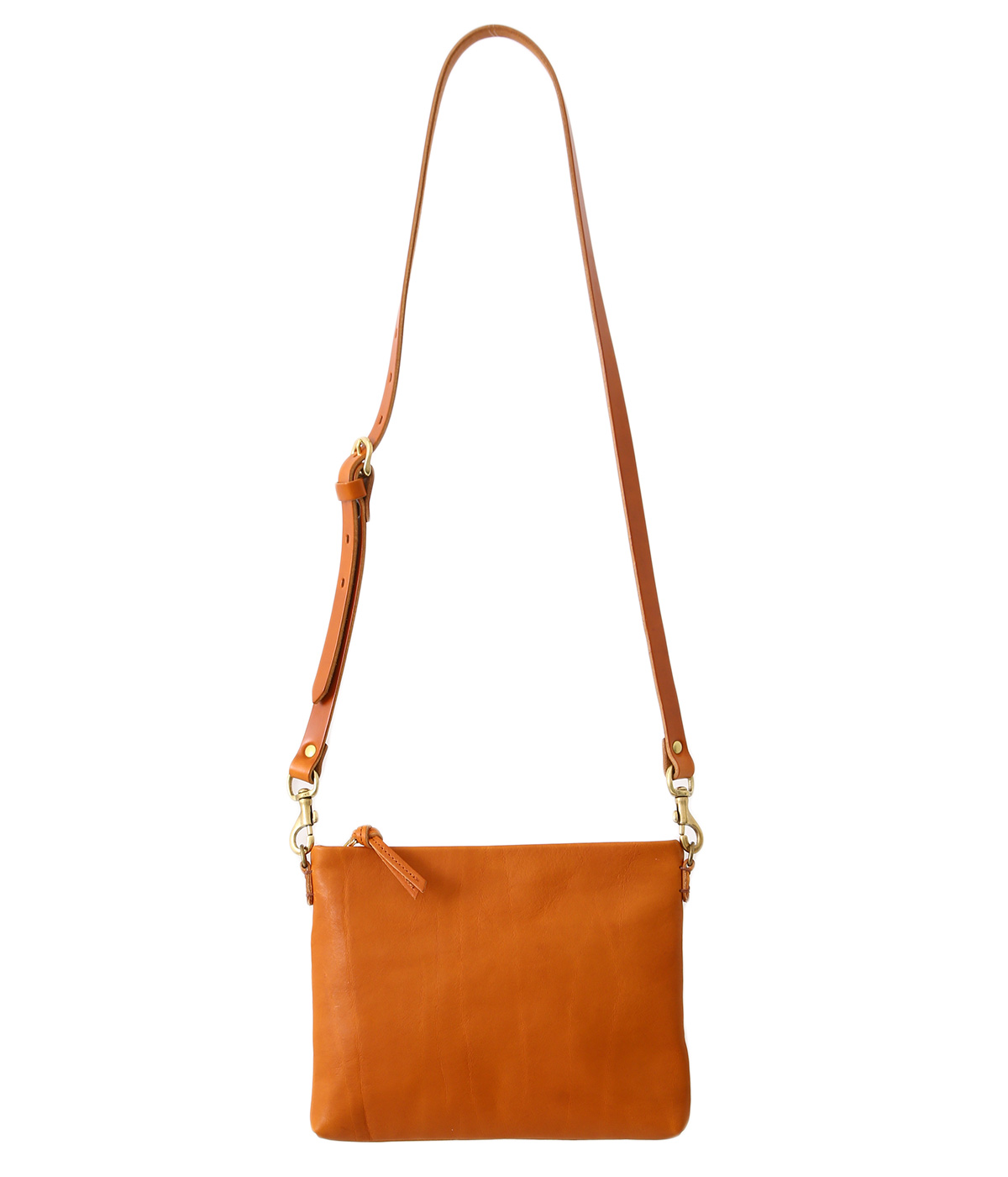 bono pouch shoulder bag -Camel-