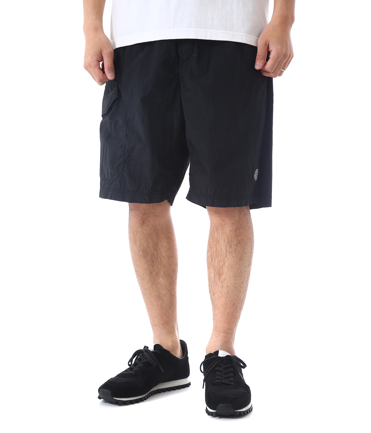 NYLON METAL SWIM SHORTS