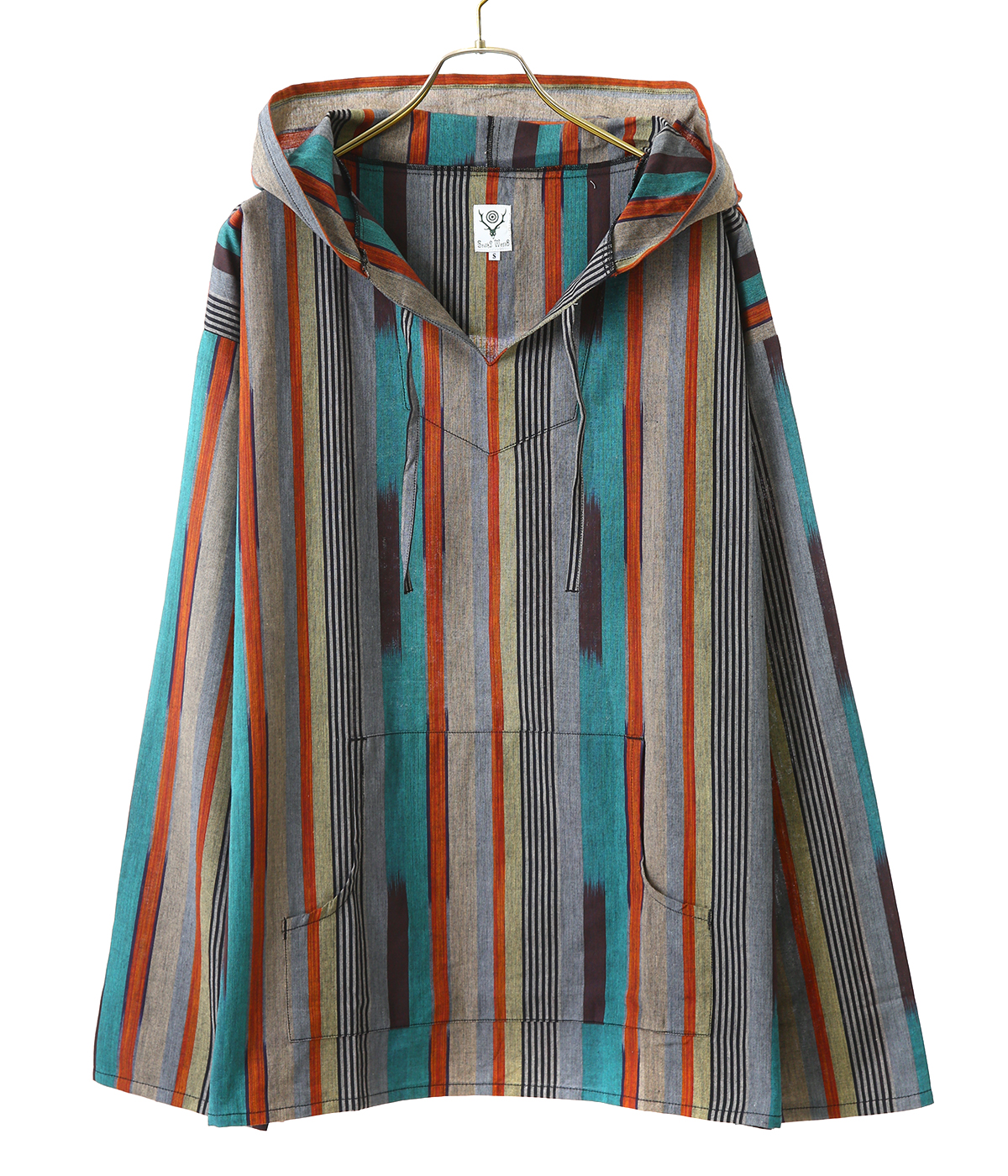 Mexican Parka - Cotton Cloth / Splashed Pattern