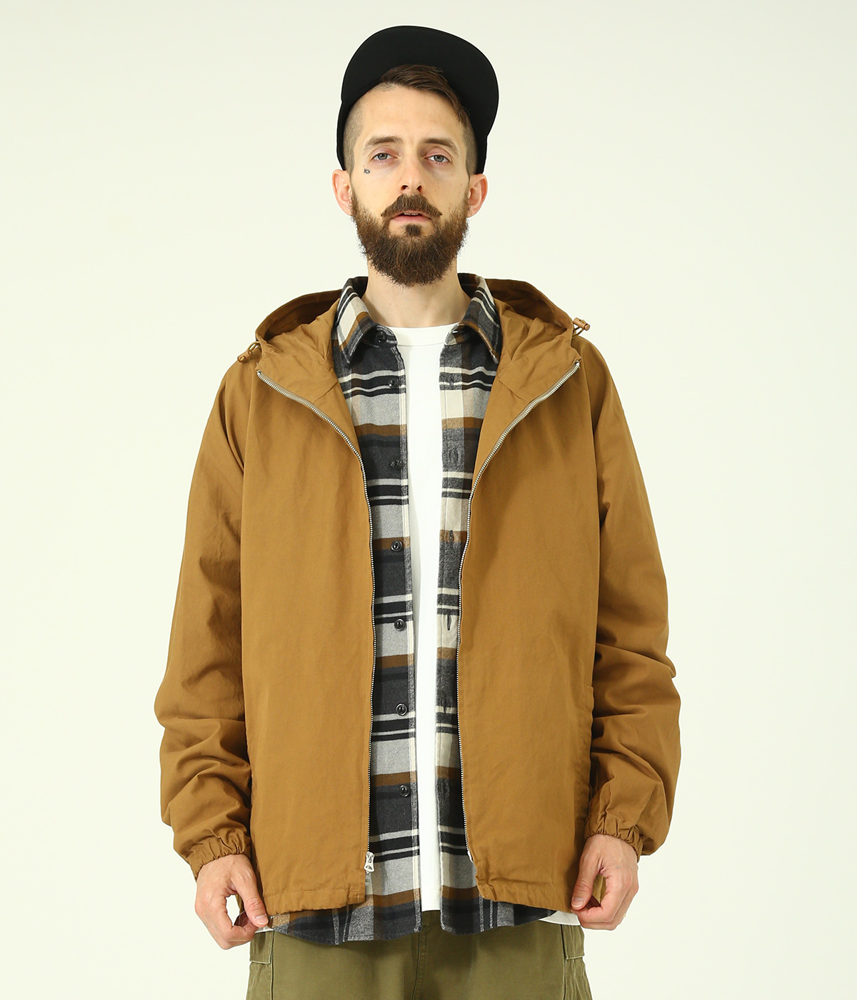 COTTON WEATHER ZIP PARKA