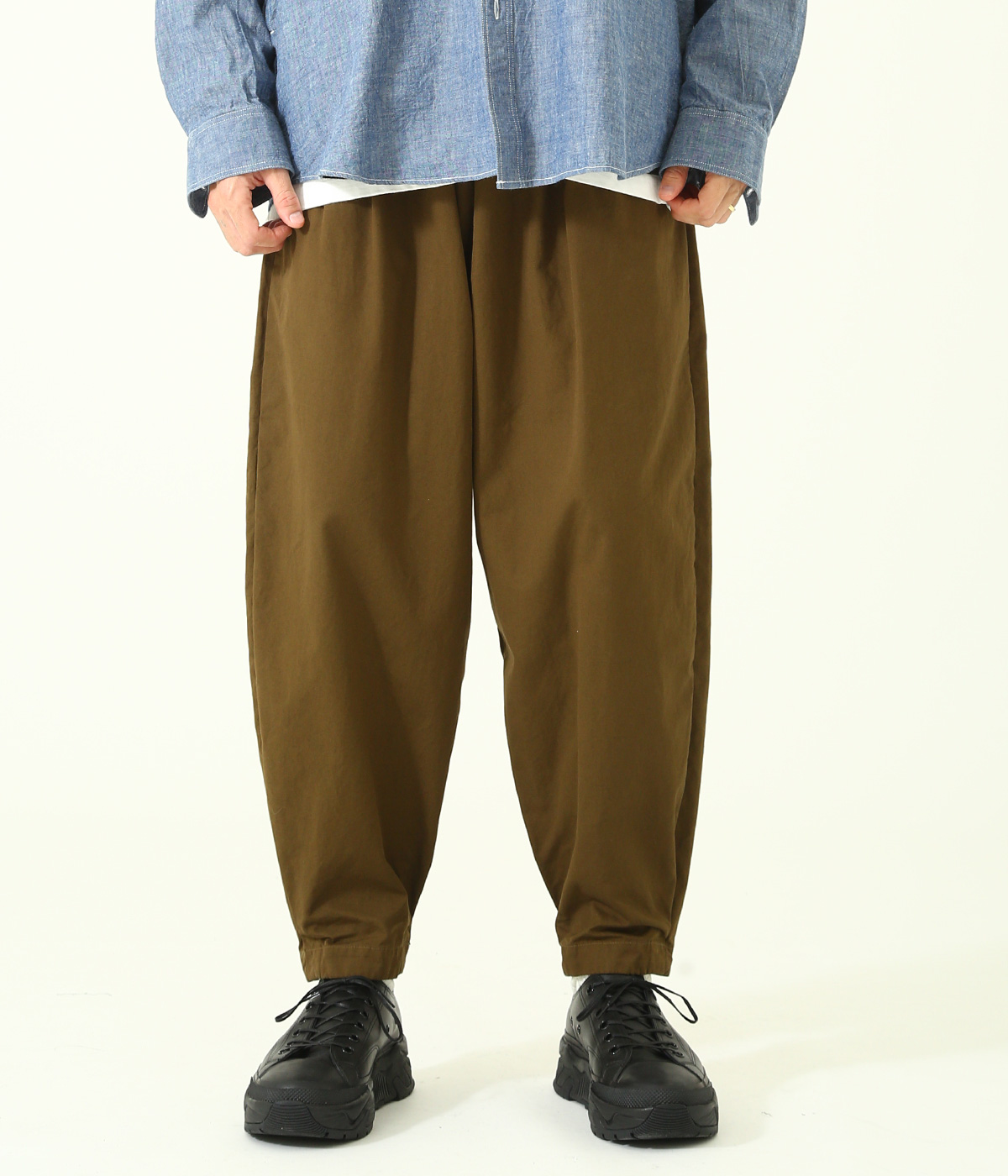 COTTON WEATHER PIEROT PANTS