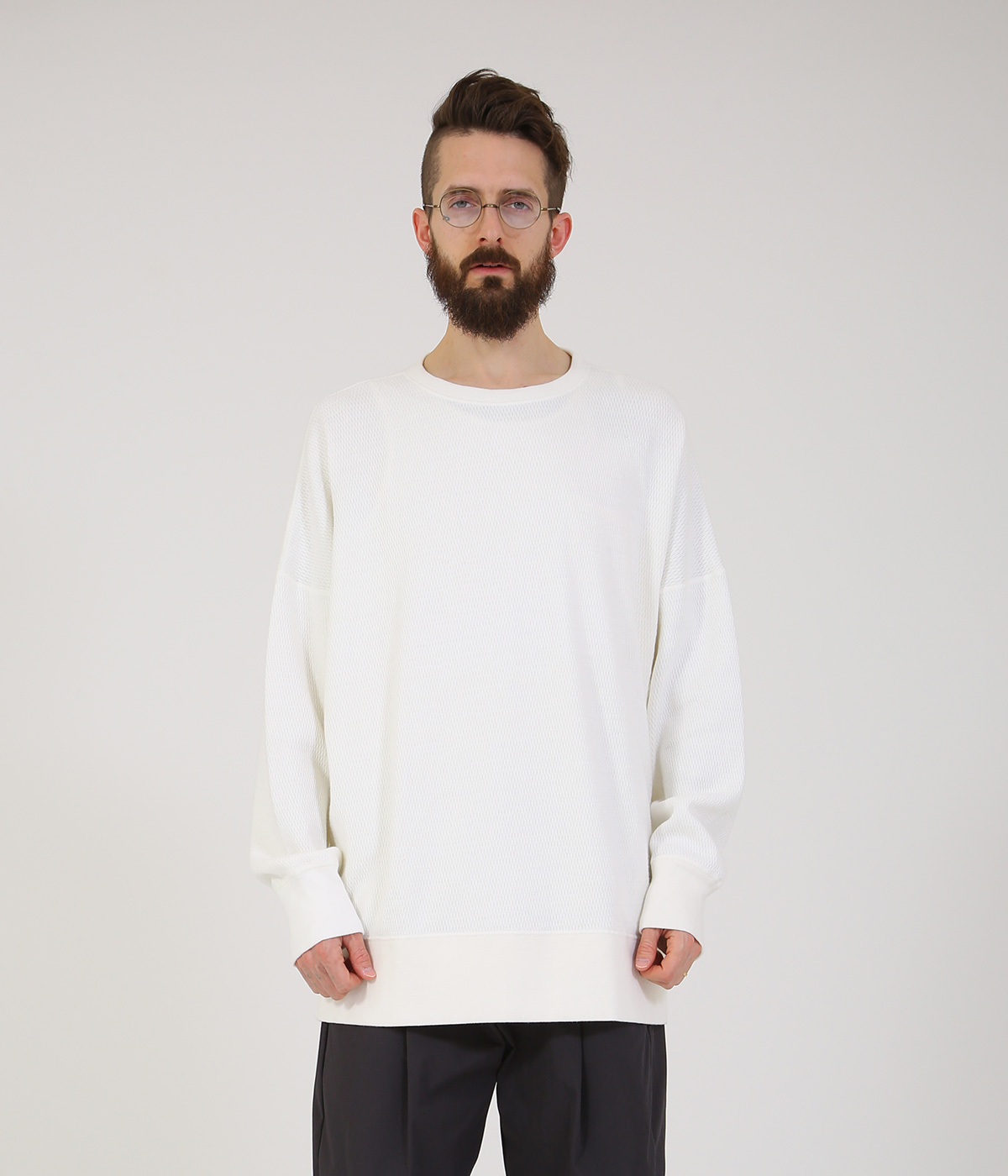 HEAVY THERMAL BIG SWEAT SHIRT