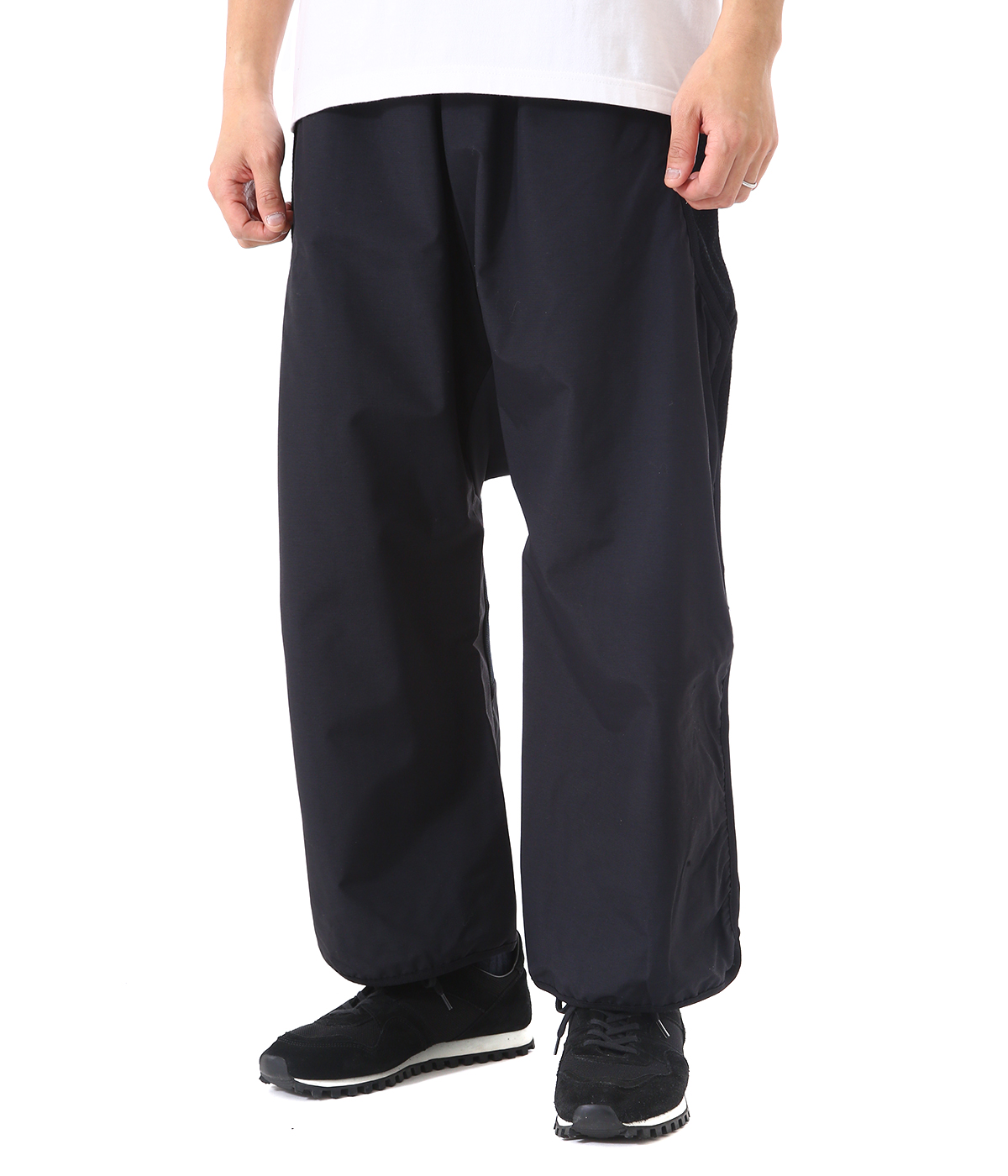 GORE WEIGHT MAP CROPPED PANTS