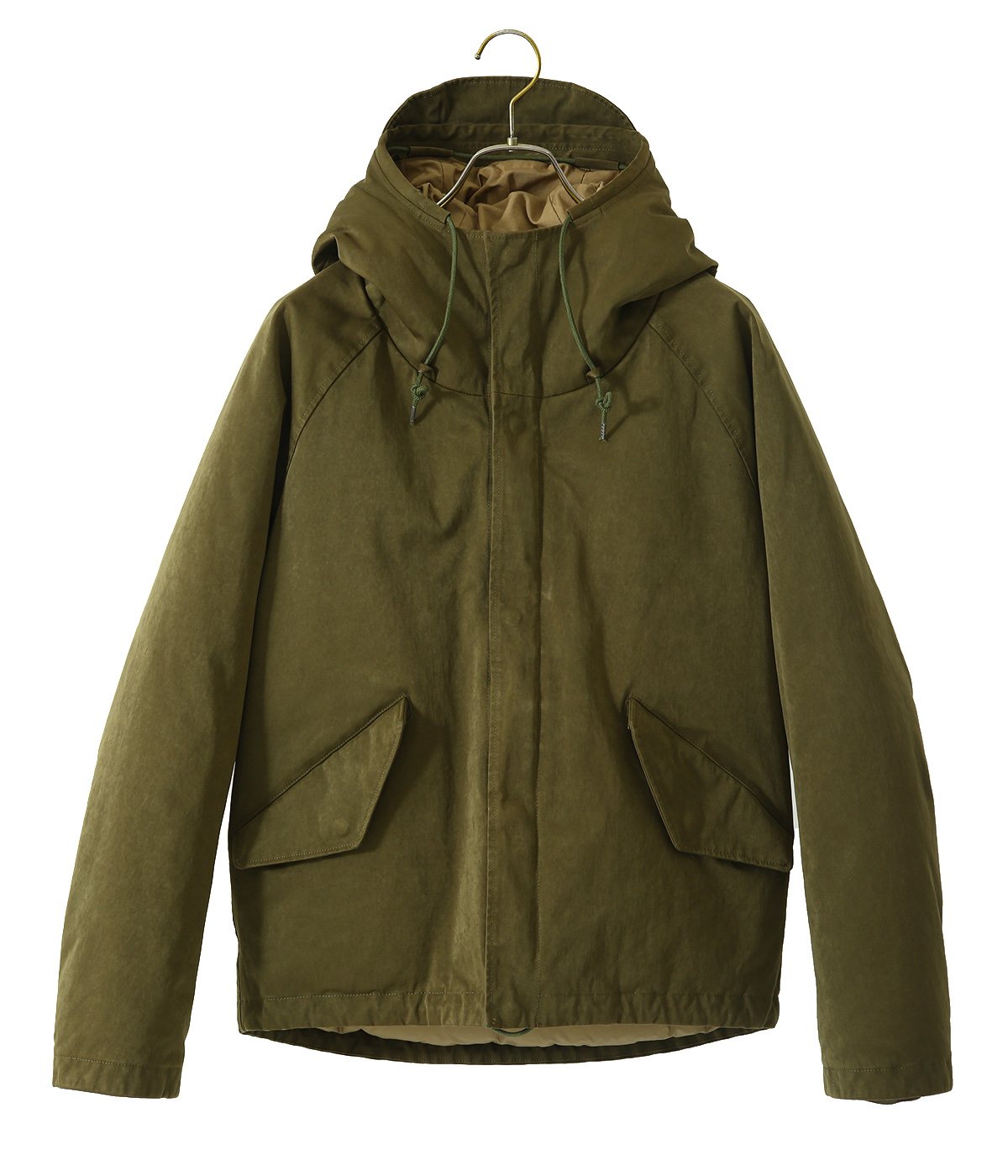 KEY ANORAK PIECE DYED POLYESTER/NYLON  MICRO-FIBRE JERSEY DOWN FILLED
