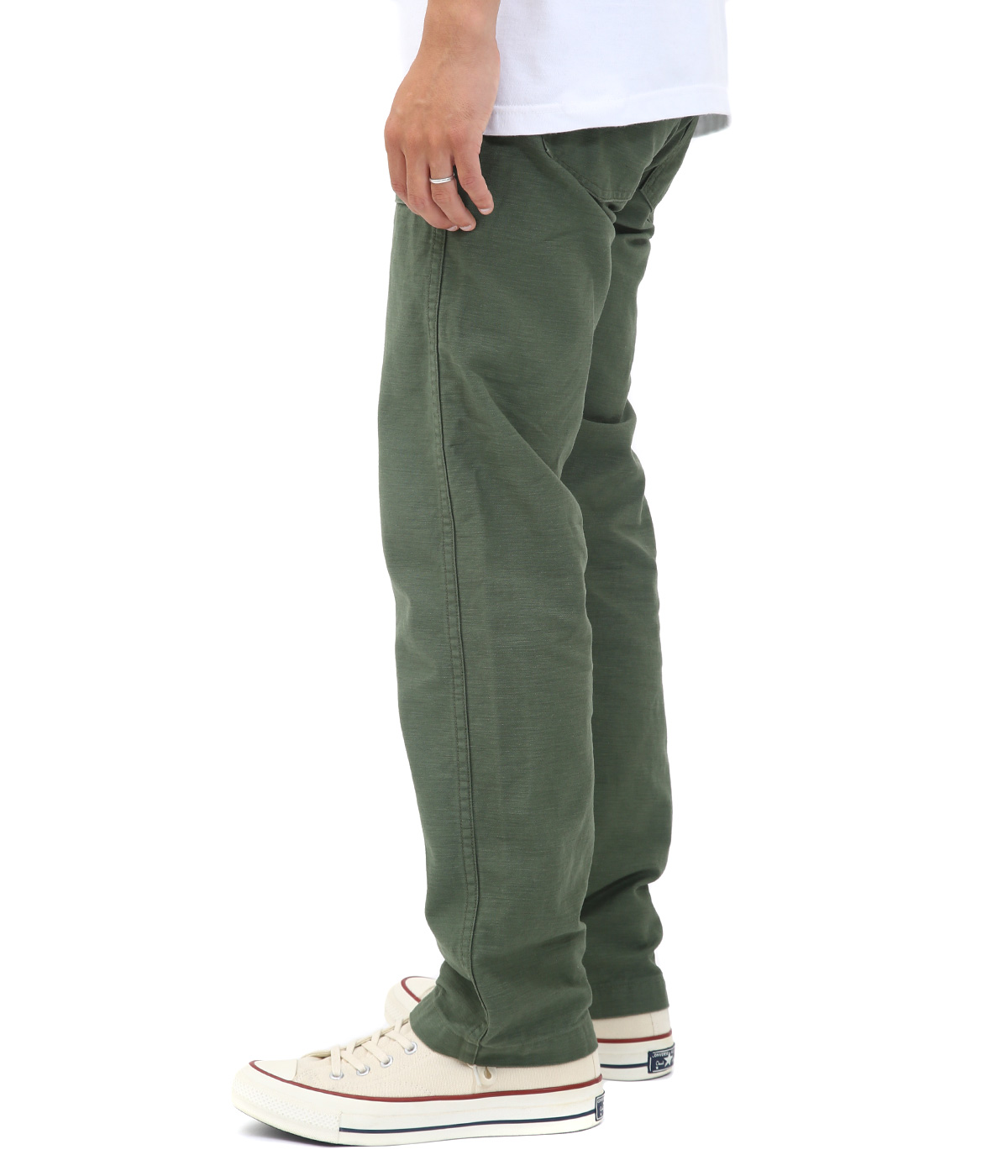 US SLIM FIT FATIGUE PANTS