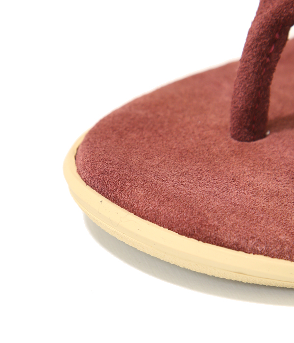 PT203 / SUEDE THONG -YELLOW SUEDE-