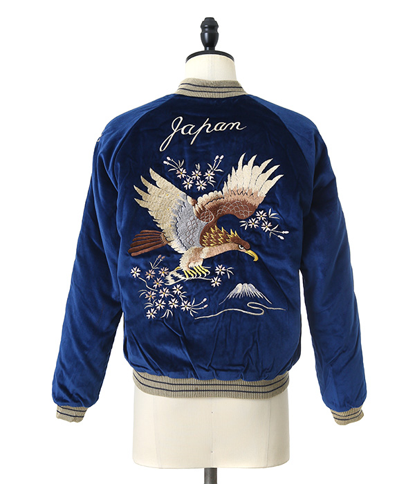 "VELVETEEN SUKA ""EAGLE/JAPAN MAP"""