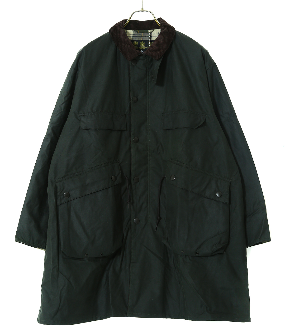 【予約】×Barbour Stand Collar Traveller Coat