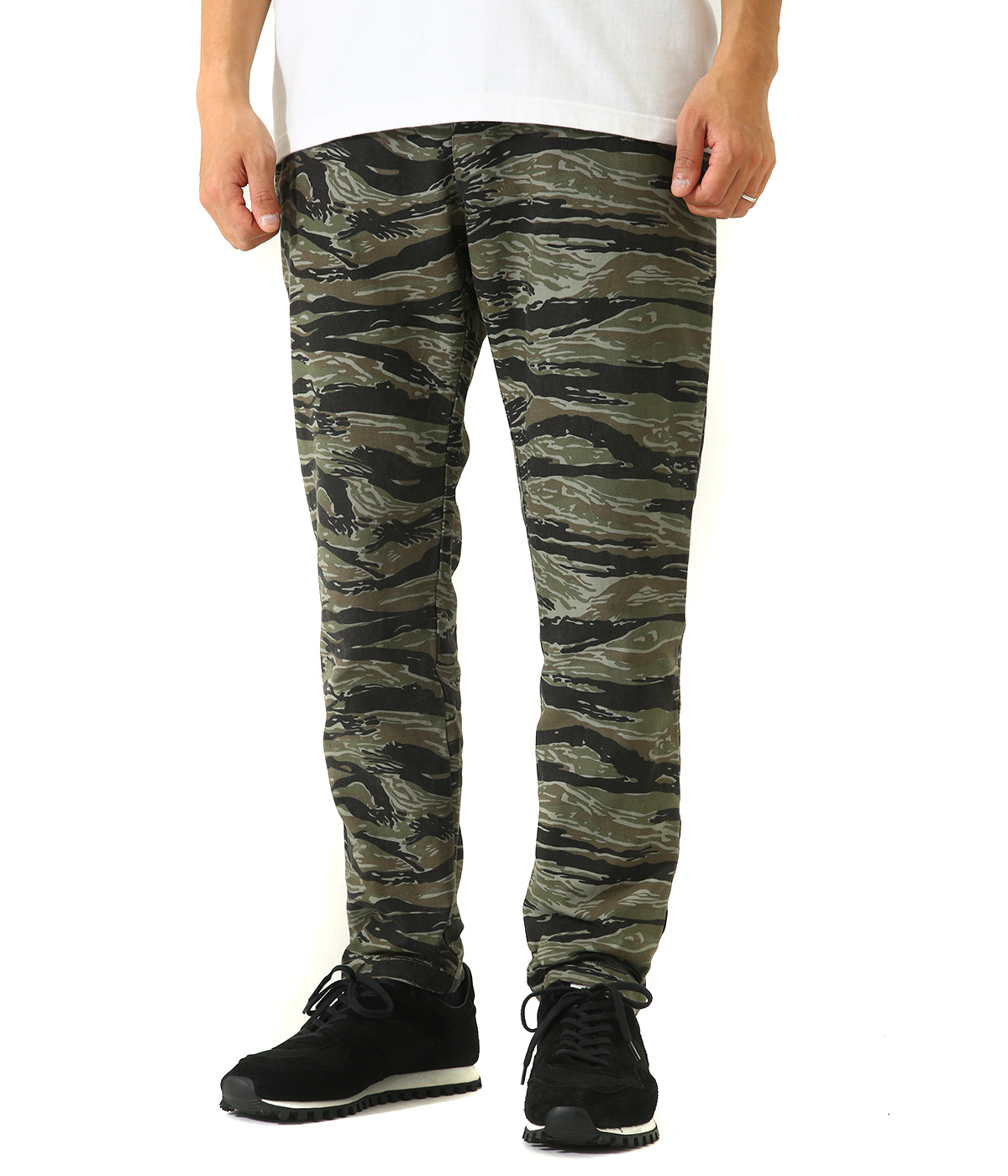 TIGER CAMO WIND-STOPPER PANTS
