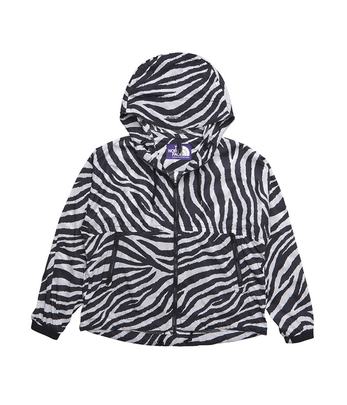 【予約】PERTEX_ Zebra Print Mountain Wind Parka