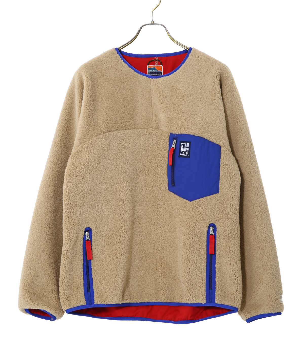 SD CLASSIC PILE PULLOVER / DLS L+2