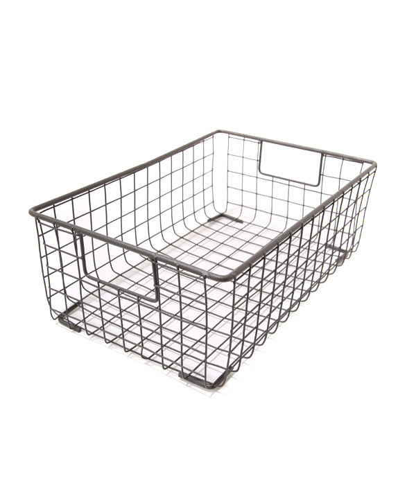 WIRE BASKET SHOES BOX Medium