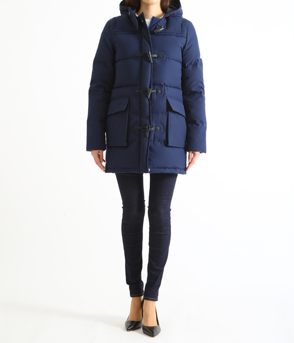 【レディース】<DALMENY(ダルメニー)>-DOWN FILL DUFFLE PARKA