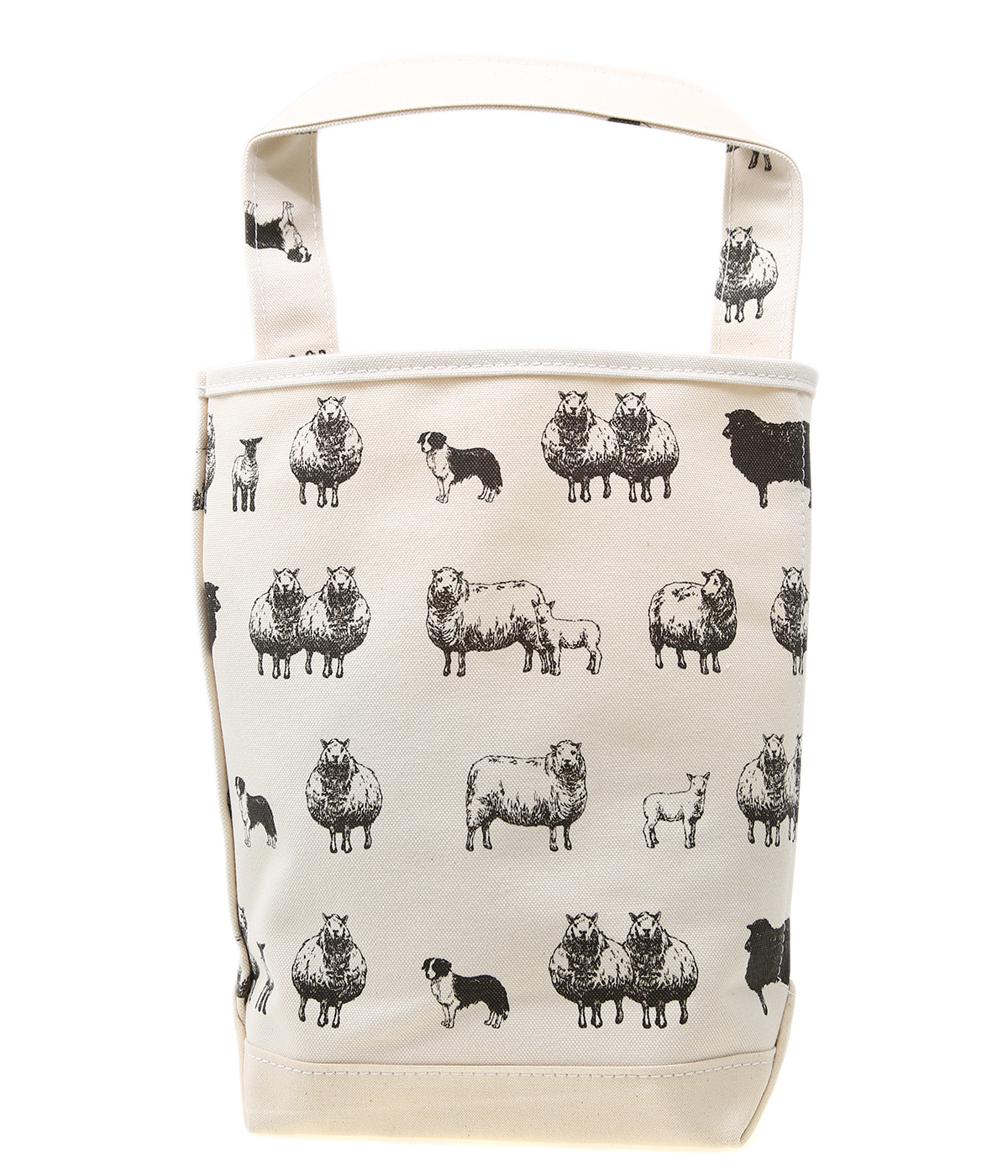 BAGUETTE TOTE SMALL PRINT -SHEEP(羊)-