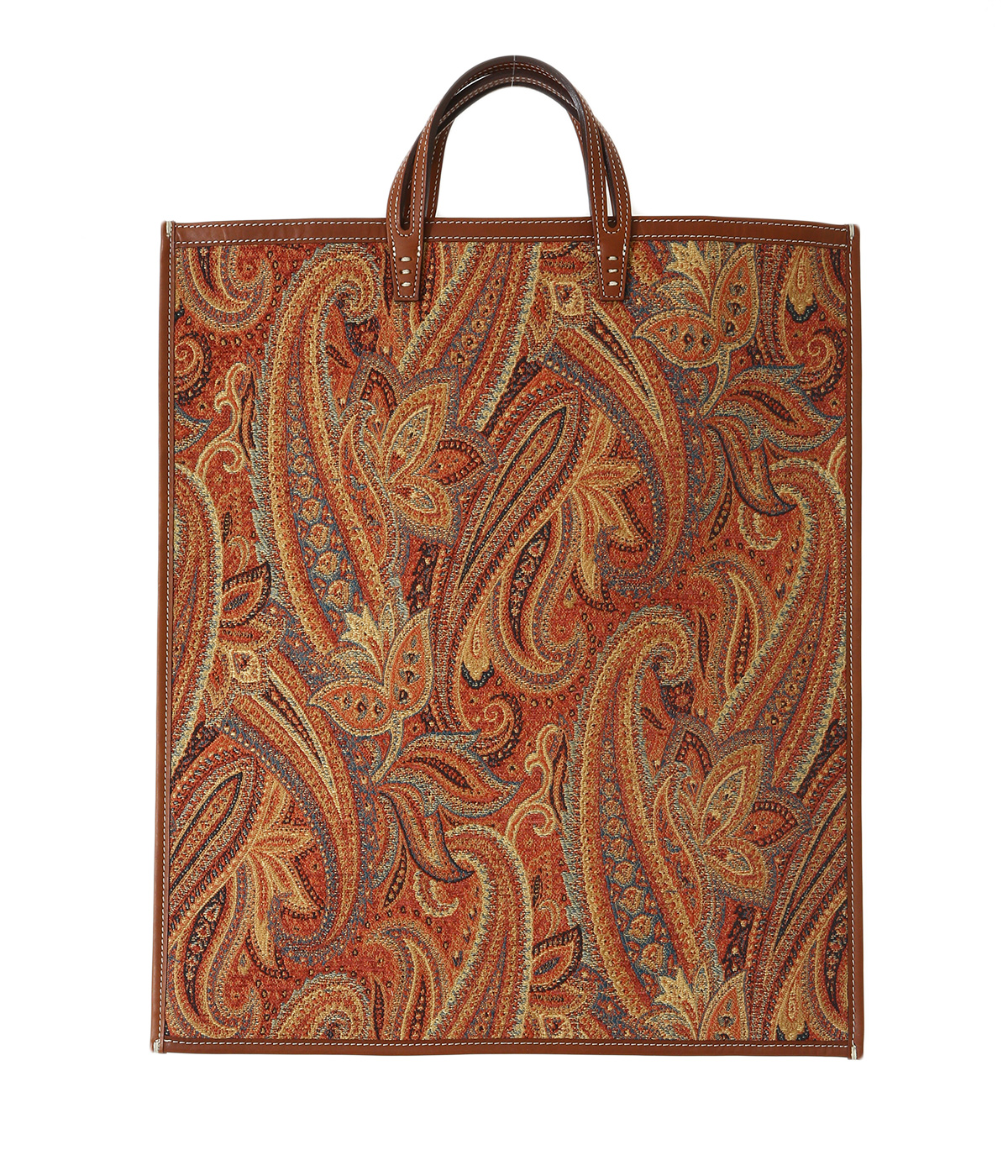 FAN-PAISLEY ORANGE-