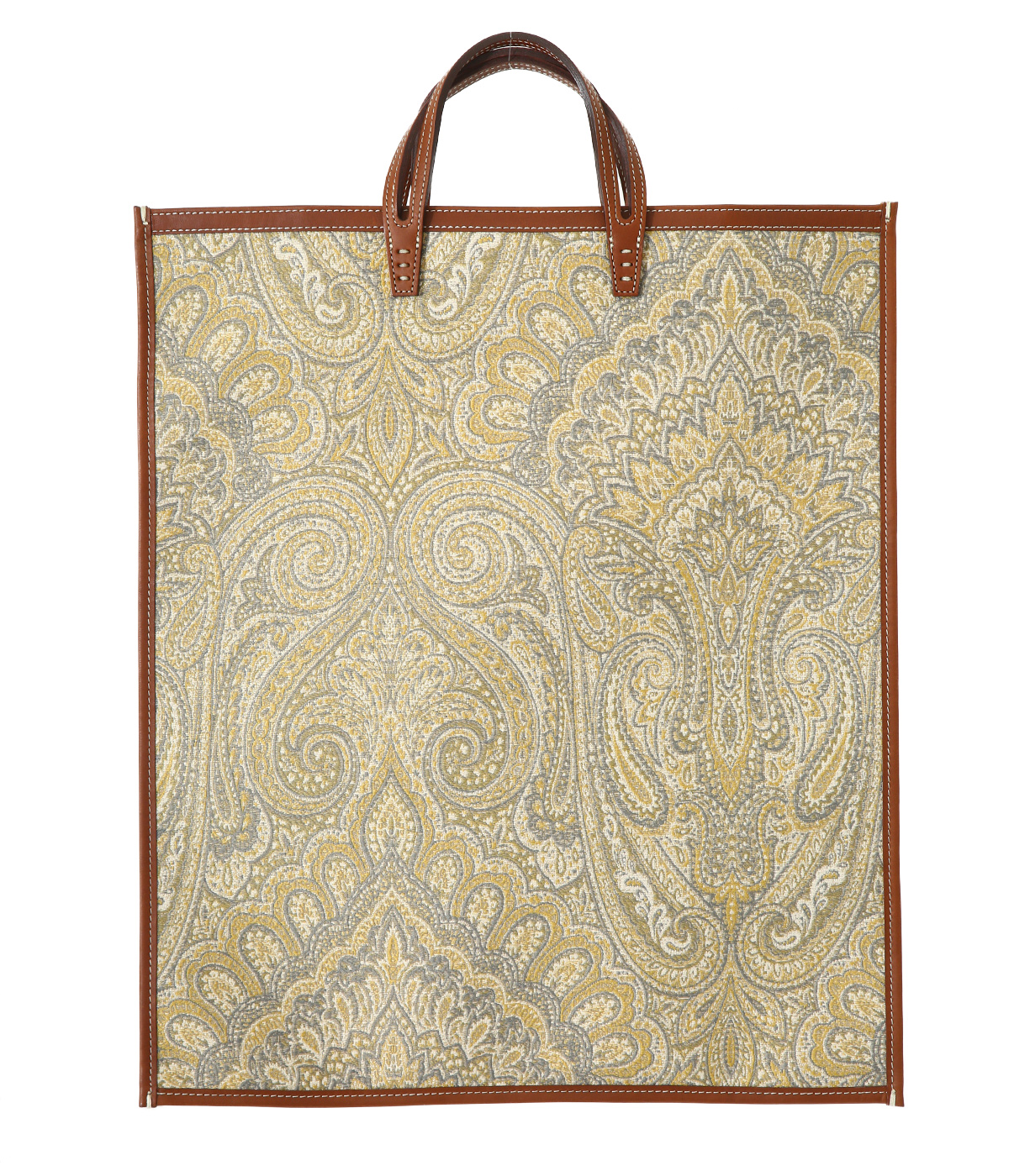 FAN-PAISLEY YELLOW-