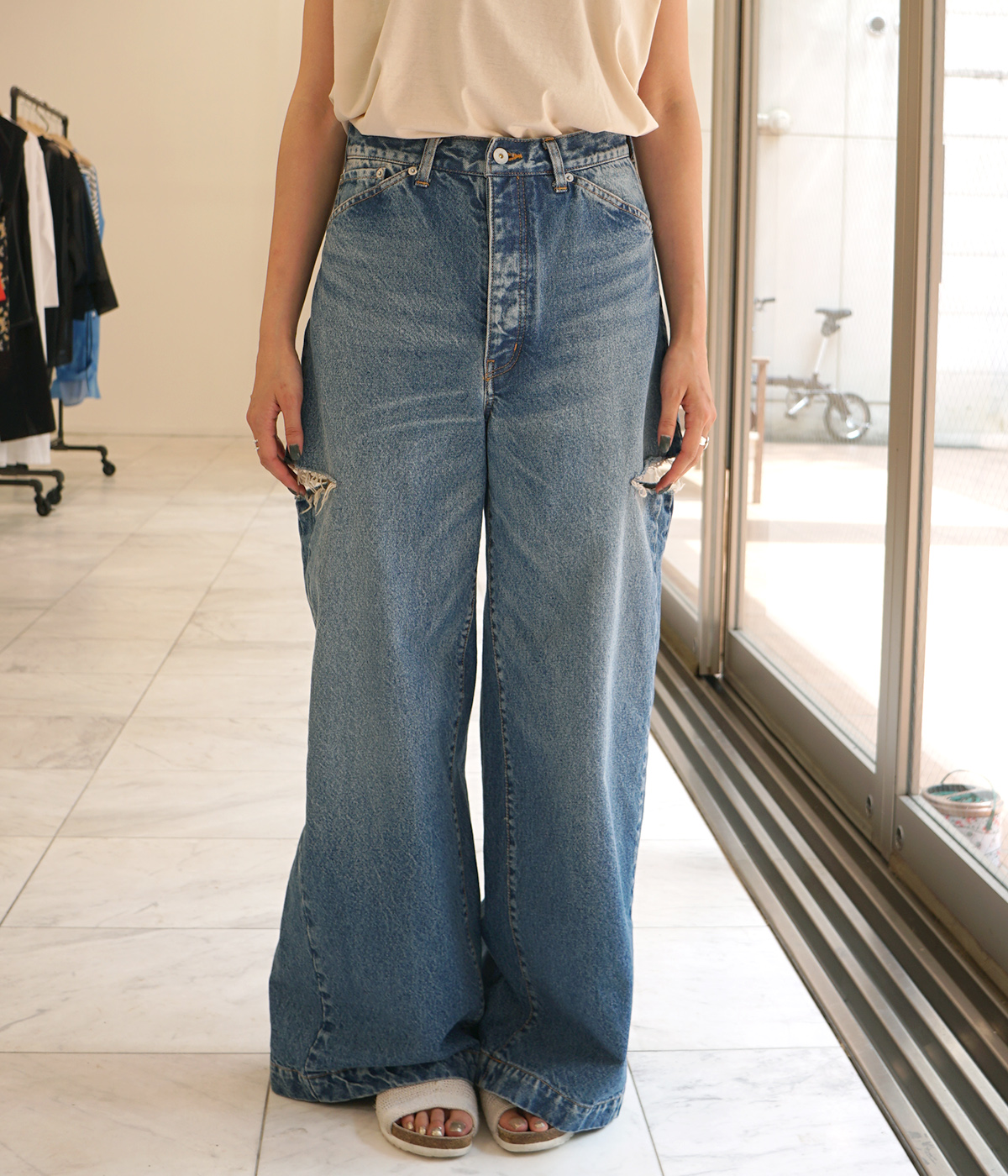 【予約】Crash Wide Pants