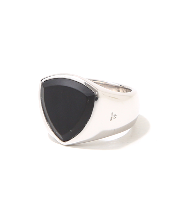 Shield Black Onyx Ring W(woman)