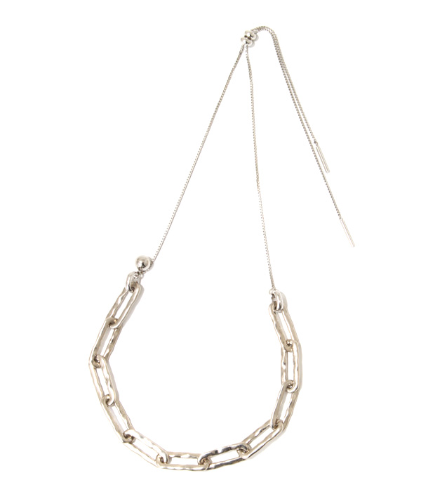 Ethical chain necklace