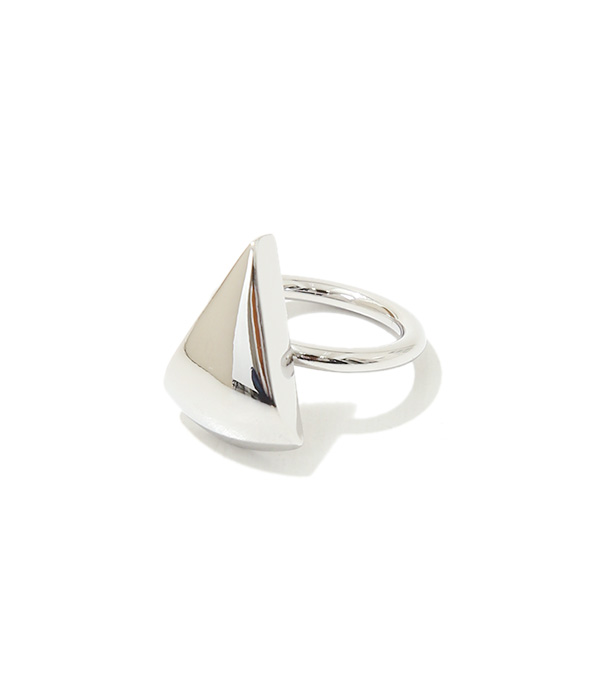 Metal stone ring(Triangle)