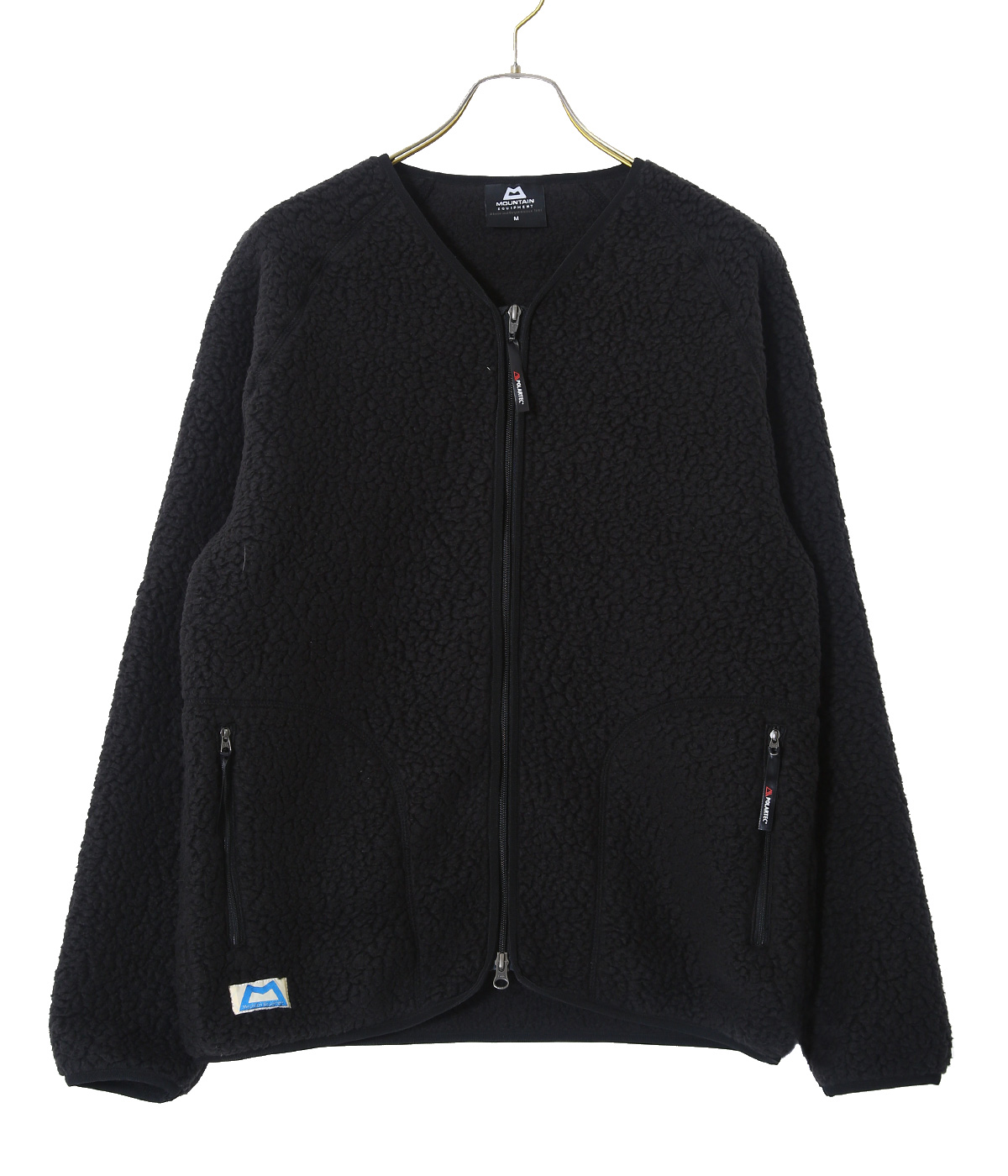 PILE FLEECE CARDIGAN