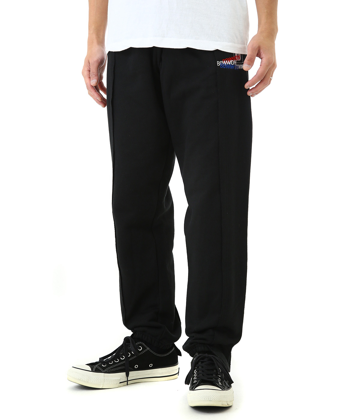 CUT ATTACH SWEAT PANTS
