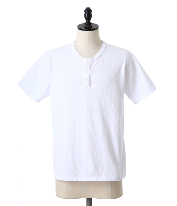S/S HENLEY NECK T-SHIRTS