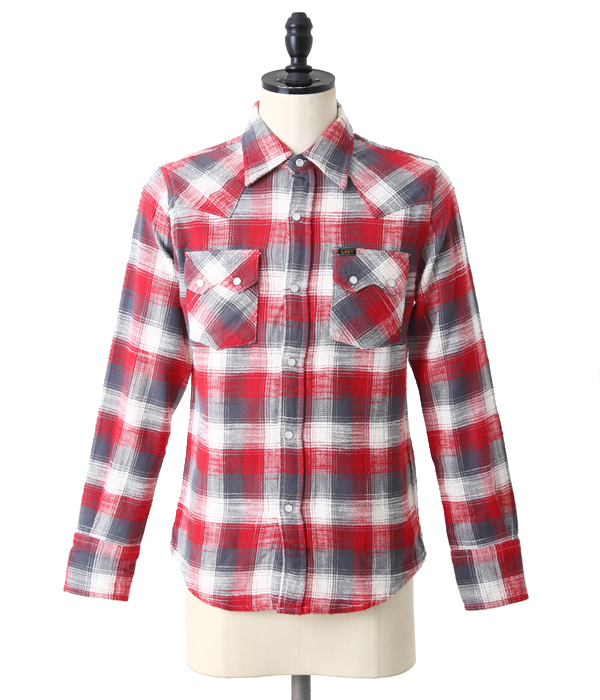 WESTERN SHIRT -Red-