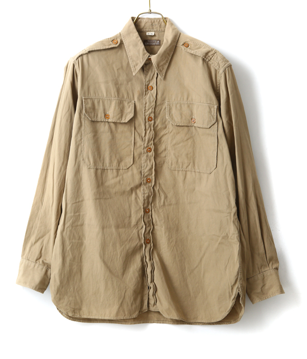【USED】US.ARMY OFFICER'S SHIRT