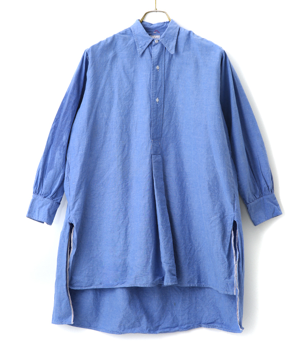 【USED】CHAMBRAY PULL OVER SHIRTS