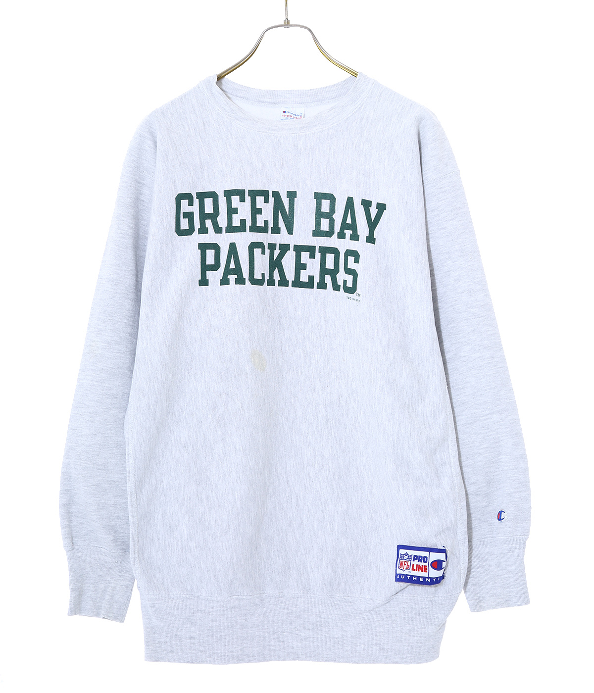 【USED】90's Champion GREEN BAY SW