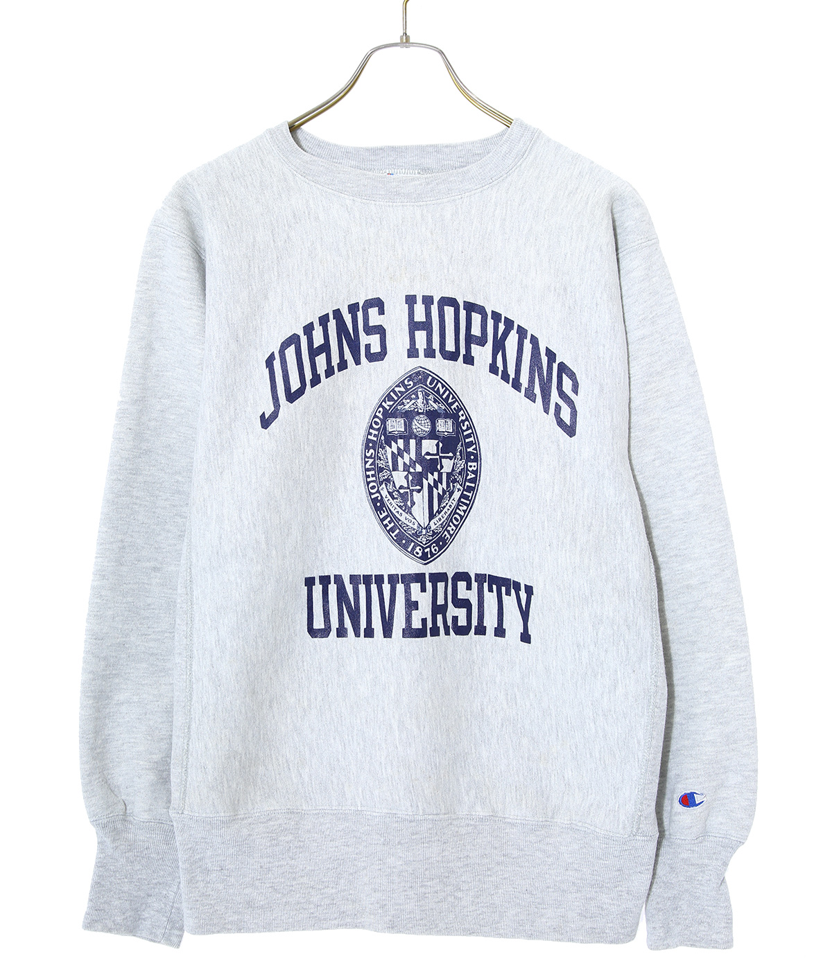 【USED】80's Champion JOHNS HOPKINS SW