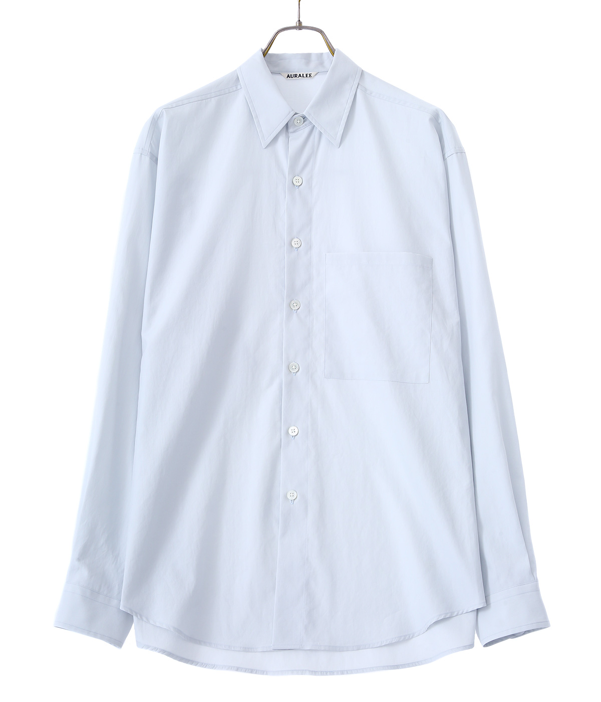 WASHED FINX TWILL BIG SHIRTS