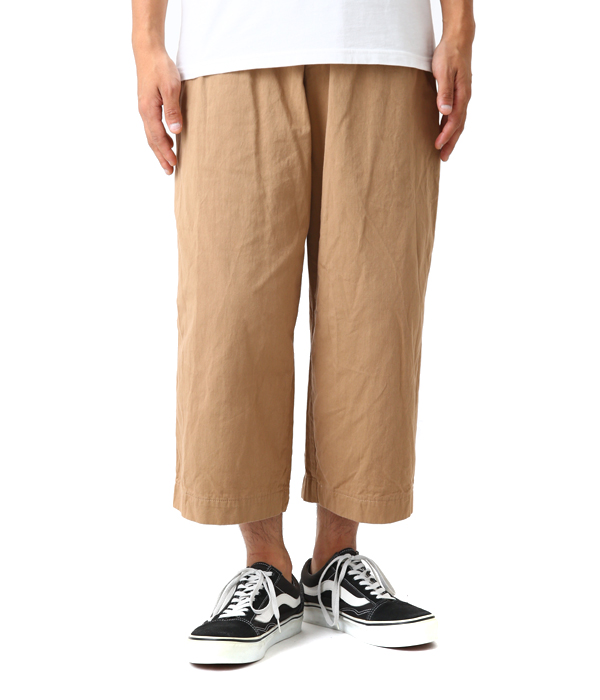 ANKLE WIDE CHINO