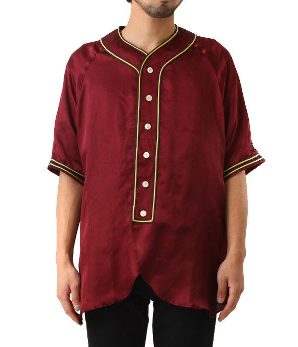 SATIN BASEBALL SHIRTS