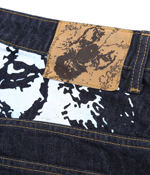GHOSTLION 10oz DENIM SHORTS