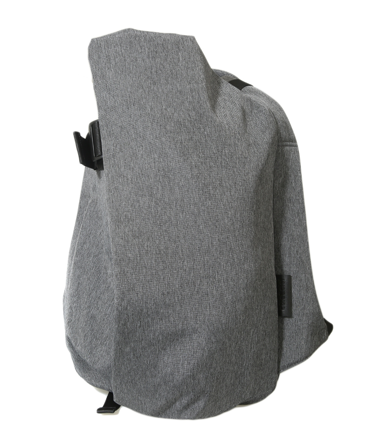 Isar Rucksack M (Eco Yarn / BLACK MELANGE / Laptops up to 13inch)