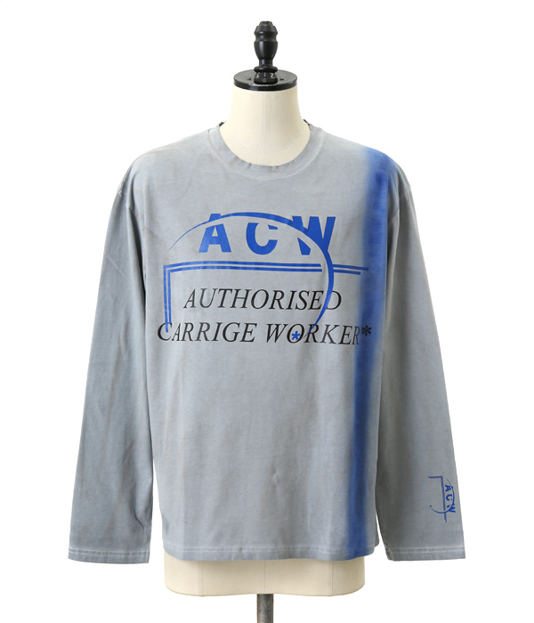 LS1*AUTHORISED CARRIAGEWORKER LONGSLEEVE